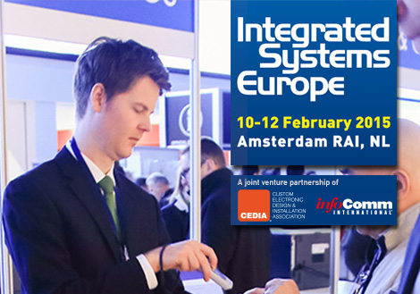 iRidium mobile at Integrated Systems Europe 2015
