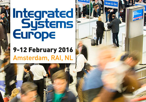 iRidium mobile exhibits at ISE 2016 February 9-12!