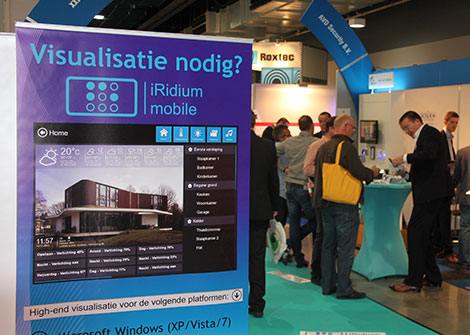 Beurs Elektrotechniek 2013 – Big Success for the Team of iRidiumMobile.nl!