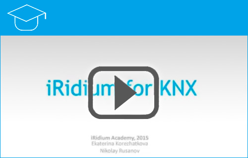 Webinar iRidium for KNX