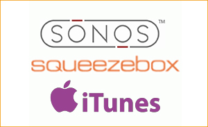 Sonos iTunec Squeezebox